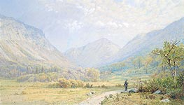 Franconia Notch, New Hampshire, 1872 by William Trost Richards | Painting Reproduction