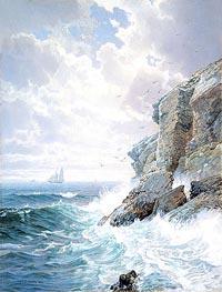 Purgatory Cliff | William Trost Richards | veraltet
