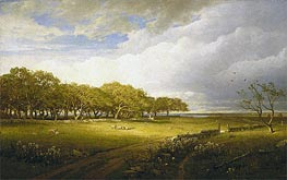 Old Orchard at Newport | William Trost Richards | veraltet