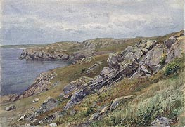 Rhode Island Coast: Conanicut Island | William Trost Richards | veraltet