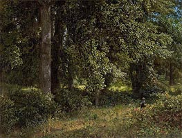 Tulip Trees, 1859 by William Trost Richards | Painting Reproduction