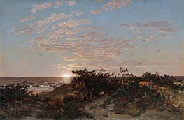Coastal Scene, 1862 by William Trost Richards | Painting Reproduction
