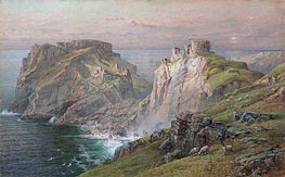 Tintagel, 1881 by William Trost Richards | Painting Reproduction