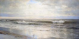 Atlantic Coast, 1898 by William Trost Richards | Painting Reproduction
