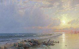 Sunset on the New Jersey Coast | William Trost Richards | veraltet