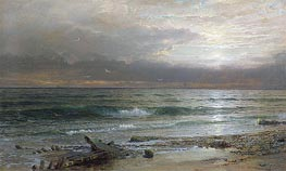 Point Judith, 1885 by William Trost Richards | Painting Reproduction