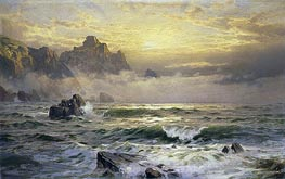 Mornings Mist, Guernsey, 1898 by William Trost Richards | Painting Reproduction