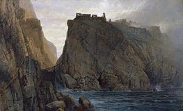 Tintagel on the Cornish Coast | William Trost Richards | Gemälde Reproduktion