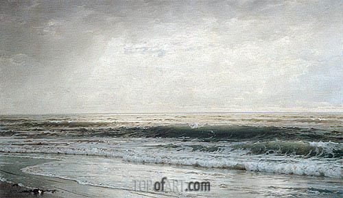 New Jersey Beach, 1901 | William Trost Richards | Gemälde Reproduktion
