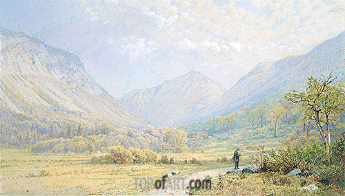 Franconia Notch, New Hampshire, 1872 | William Trost Richards | Painting Reproduction