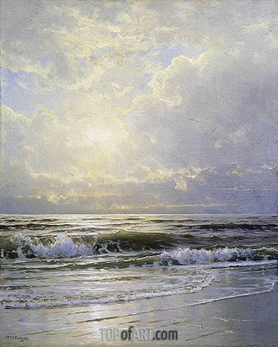 William Trost Richards | Morning, Sea View, undated