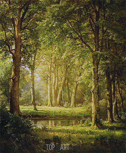 Early Summer, 1888 | William Trost Richards | Painting Reproduction