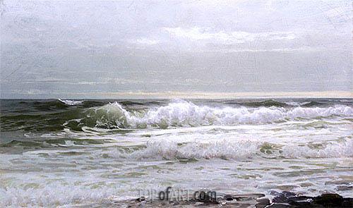 William Trost Richards | Seascape, c.1890