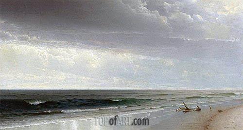 Newport Beach, 1873 | William Trost Richards | Gemälde Reproduktion