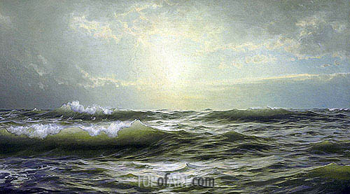 On the Coast of New England, 1894 | William Trost Richards | Painting Reproduction