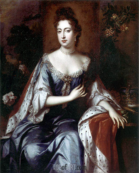 William Wissing | Queen Mary II, c.1690