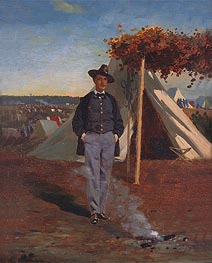 Portrait of Albert Post, 1866 by Winslow Homer | Painting Reproduction