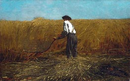 The Veteran in a New Field, 1865 by Winslow Homer | Painting Reproduction