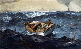 The Gulf Stream, 1899 by Winslow Homer | Painting Reproduction