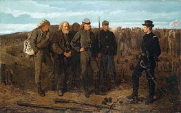 Prisoners from the Front, 1866 by Winslow Homer | Painting Reproduction