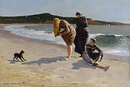 Eagle Head, Manchester, Massachusetts (High Tide), 1870 by Winslow Homer | Painting Reproduction