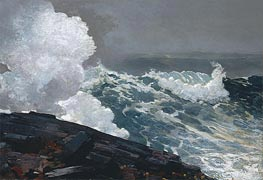 Northeaster, 1895 by Winslow Homer | Painting Reproduction