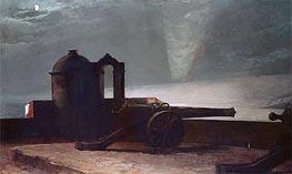 Searchlight on Harbor Entrance, Santiago de Cuba, 1901 by Winslow Homer | Painting Reproduction