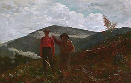 The Two Guides | Winslow Homer | Gemälde Reproduktion