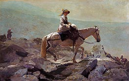 The Bridle Path, White Mountains | Winslow Homer | Gemälde Reproduktion