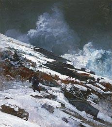 Winter Coast, 1890 von Winslow Homer | Gemälde-Reproduktion