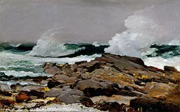 Eastern Point, 1900 by Winslow Homer | Painting Reproduction