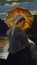 The Nurse, 1867 by Winslow Homer | Painting Reproduction