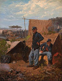 Home, Sweet Home, c.1863 by Winslow Homer | Painting Reproduction
