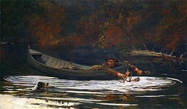 Hound and Hunter, 1892 by Winslow Homer | Painting Reproduction