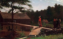 Old Mill (The Morning Bell), 1871 by Winslow Homer | Painting Reproduction