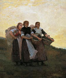 Hark! The Lark, 1882 by Winslow Homer | Painting Reproduction