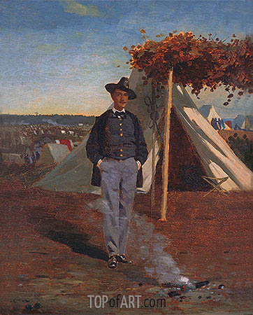 Winslow Homer | Portrait of Albert Post, 1866