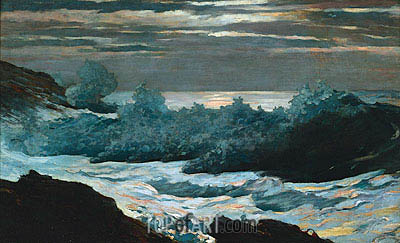 Winslow Homer | Early Morning after Storm at Sea, 1902