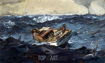 Winslow Homer | The Gulf Stream, 1899