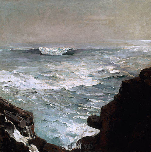 Cannon Rock, 1895 | Winslow Homer | Painting Reproduction
