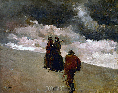 To the Rescue, 1886 | Winslow Homer| Painting Reproduction