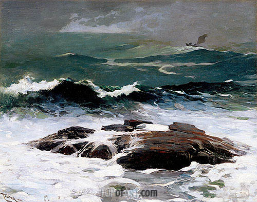 Summer Squall, 1904 | Winslow Homer| Painting Reproduction