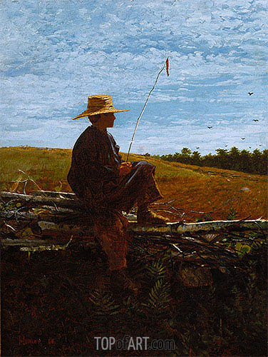 On Guard, 1864 | Winslow Homer | Painting Reproduction