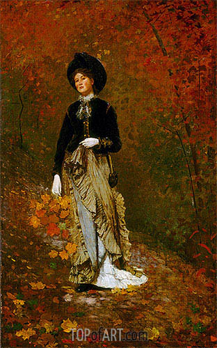 Autumn, 1877 | Winslow Homer | Painting Reproduction