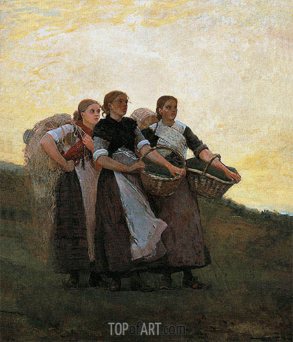 Hark! The Lark, 1882 | Winslow Homer | Painting Reproduction