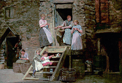 Sparrow Hall, c.1881/82 | Winslow Homer| Painting Reproduction