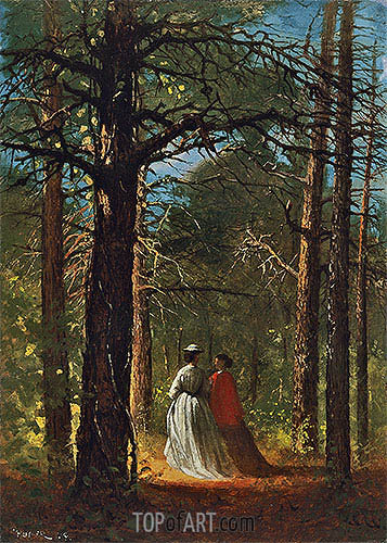 Winslow Homer | Waverly Oaks, 1864