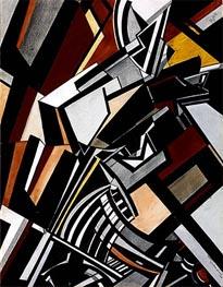 Composition | Wyndham Lewis | Gemälde Reproduktion