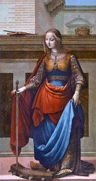 Saint Catherine, c.1510 by Fernando Yáñez | Painting Reproduction