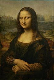 Mona Lisa (La Gioconda), c.1503/06 by Leonardo da Vinci | Painting Reproduction